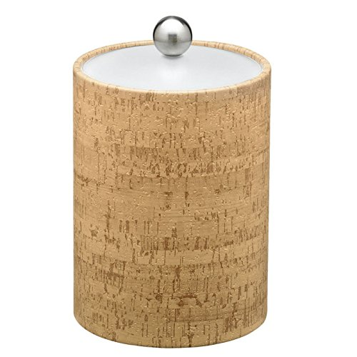 Natural Cork 2 Qt. Tall Ice Bucket With Lucite Lid