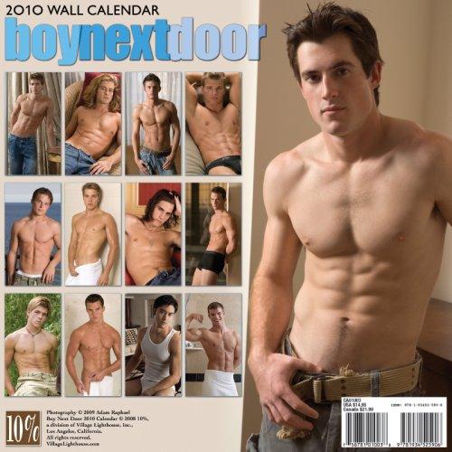 Boy Next Door 2010 Calendar