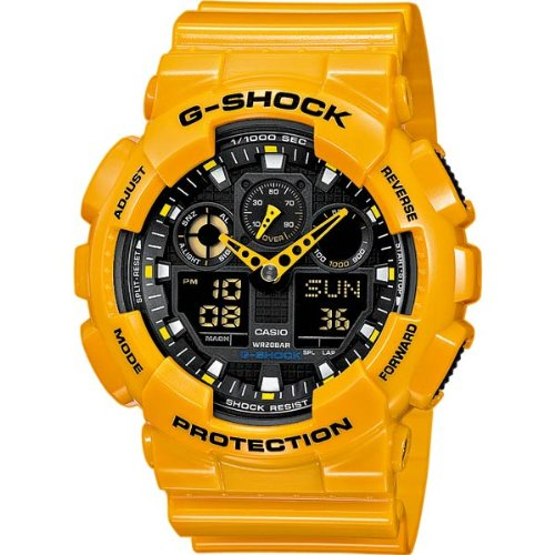 Casio Gents Watch G-Shock GA-100A-9AER
