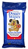 Petkin Deodorizing Doggy Wipes Instant Pet Bath