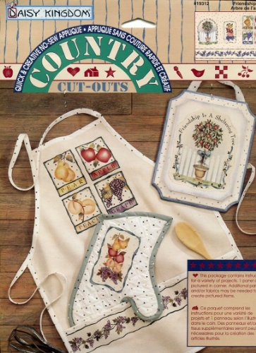 Daisy Kingdom Country Cut-Outs No-Sew Fabric Applique ~ Friendship Tree