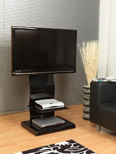 All black cantilever stand - UKGL 510 up to 42