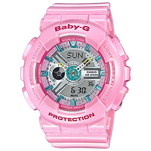 G-Shock Women's BA-110CA-4ACR Pink Watch (Gshock Lap Timer compare prices)