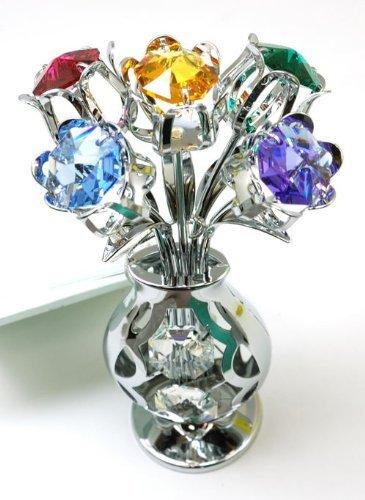 crystocraft-freestanding-swarovski-crystal-tulips-in-crystal-vase