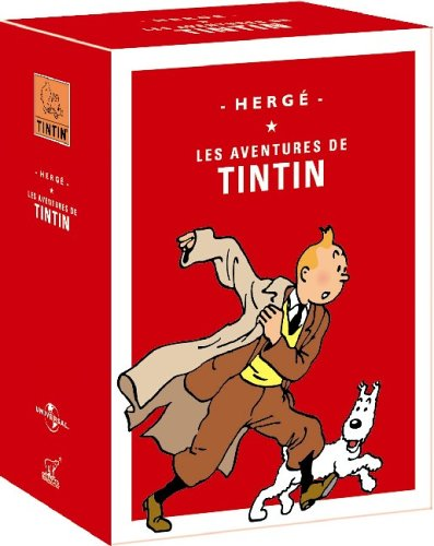 Cover art for  The Adventures of Tintin, Vols. 6-10