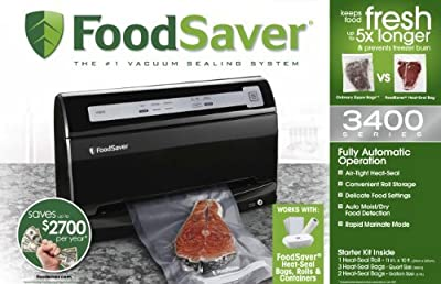 FoodSaver Vacuum Sealing System by FoodSaver