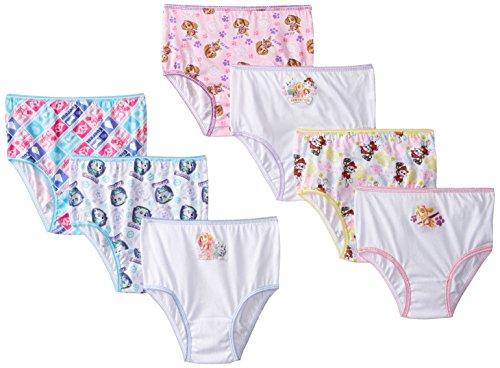 Nickelodeon Paw Patrol - 7 Pack Girls Underwear Briefs