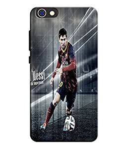 EU4IA Messi Football Player Pattern MATTE FINISH 3D Back Cover Case For Huawei Honor 4X - D349