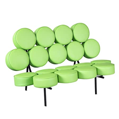 Fine Mod Circle Sofa, Green