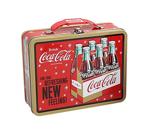 "Coca-Cola Embossed Metal Lunch Box ""Coke"" (Drink Coke)"