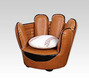 Baseball Glove Chair Pillow Set from Najarian Furniture Co.,Inc.