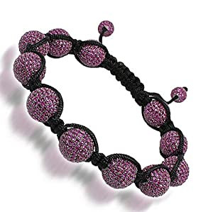 Ball Bead Bracelet with Swarovski Crystals