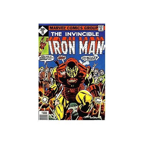 Invincible Iron Man (1968 series) #96 WHITMAN Marvel Books