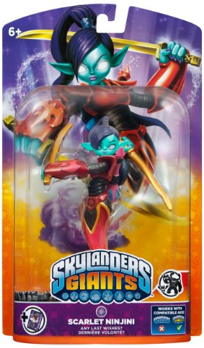 Skylanders: Giants Character - Scarlet Ninjini *Limited* (PS3/Xbox 360/Nintendo 3DS/Wii U/Wii)