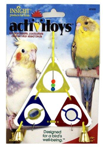 Cheap JW Pet Company Activitoys Triangle Dangle Bird Toy (B000FJ9QTM)