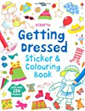 img - for Getting Dressed Sticker and Colouring Book book / textbook / text book
