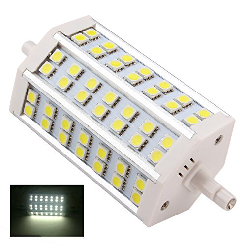 Corn Lamp Halogen Flood R7S 10W 118Mm Light Bulb 42 Led Smd 5050 Pure White