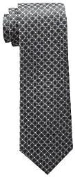 Tommy Hilfiger Men\'s Core Neat I Tie, Black, One Size