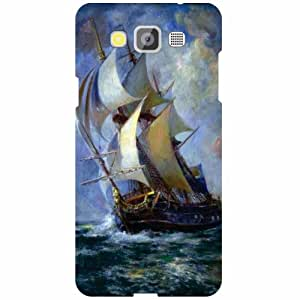 Printland Ship Phone Cover For Samsung Galaxy Grand Max SM-G7200