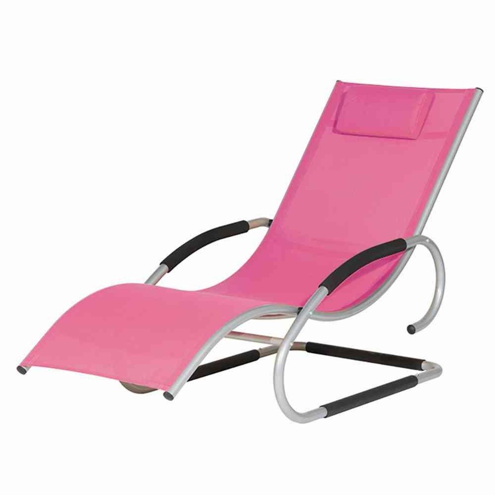Siena Garden 268137 Swingliege Adria Aluminium-Gestell silber Ranotex®-Gewebe 2*1 pink Armlehnen gepolstert, mit Kopfteil günstig