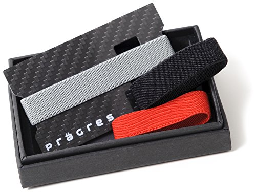 carbon fiber money clip wallet with bottle opener minimalist ebay. Black Bedroom Furniture Sets. Home Design Ideas