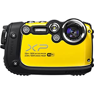 Fujifilm FinePix XP200 16MP Digital Camera with 3-Inch LCD (Yellow)