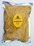 Yellow Beeswax Bees Wax Organic Pastilles Beards Premium Prime Grade A 100% Pure 16 oz