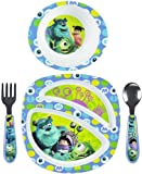 The First Years Feeding Set - Monsters Inc - Girl - 4 Piece Set