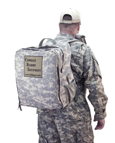 Combat Daddy Equipment Model 1 Diaper Bag (Camouflage Pattern- Army Combat Uniform)