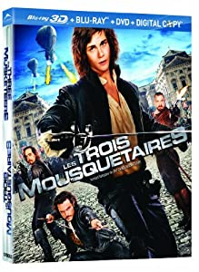 The Three Musketeers [Blu-ray 3D + Blu-ray + DVD + Digital Copy]