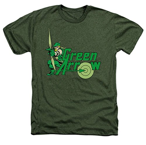 DC Green Arrow Aim Heather T-Shirt