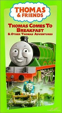Amazon Com Thomas Comes To Breakfast Vhs Michael