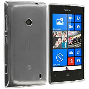 Real Shopping Perfect Perfect Fitting High Quality 0.3mm Ultra Thin Transparent Silicon Back Cover For Nokia Lumia 520