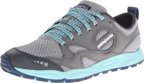 Patagonia Women's Evermore Trail Running Shoe,Tailored Grey/Polar Blue,9 M US