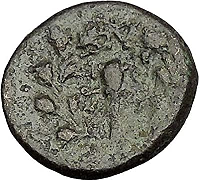 Sardes in Lydia 133BC Ancient Greek Coin Apollo father of Asclepius Club i51806