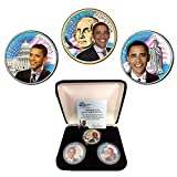 3pc Obama Coin Collection