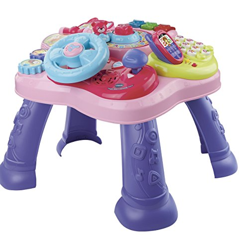 VTech Magic Star Learning Table, Pink (Frustration Free Packaging) (Gears Gears Gears Activity Book compare prices)