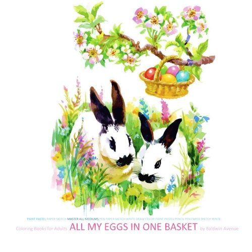 Coloring Books for Adults All My Eggs in One Basket