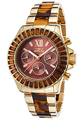 Invicta Women's 17494 Angel Analog Display Swiss Quartz Two Tone Watch