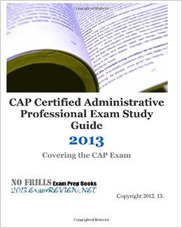 Study guide for cap exam