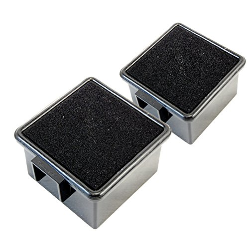 HQRP 2-Pack Filters for Dirt Devil UD20005, UD20005EBN, UD20005DI, UD20005BSP, UD20005BDI Easy Lite Cyclonic Quick Vac + HQRP Coaster (Dirt Devil Ud20005 Filter compare prices)