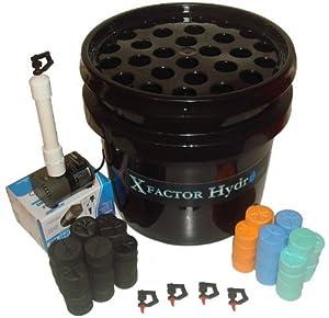 Xfactor Hydro® 28 sites = 168 clones!! ABC (Aeroponic Bucket Cloner)