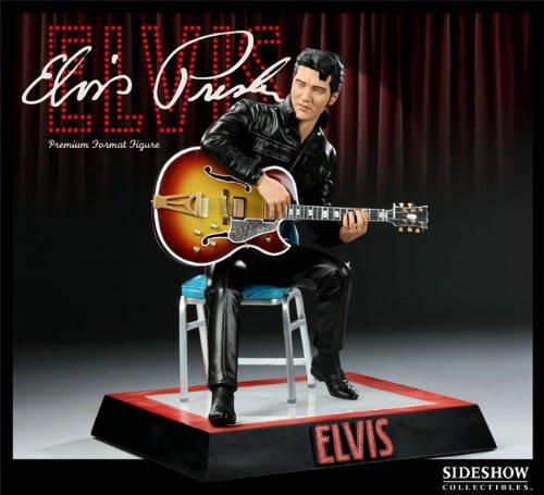 Buy Low Price Sideshow Elvis Presley Comeback Premium Format Figure (B003VWRK2U)