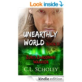 Zuri's Zargonnii Warrior [Unearthly World Book 2]