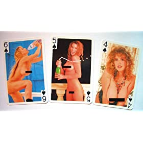 Hot Girls Playing Cards