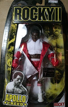 Buy Low Price Jakks Pacific Rocky II: The Authentic Collection Action Figure Apollo Creed (B0013RUCZC)