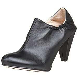 ALL BLACK Women's Just Bootie Ankle Boot