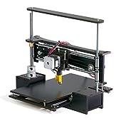 "TwoUp 3D Printer Kit 7"" x 7"" x 5"" Build Dimensions 50 Micron 1.75mm PLA Filament"