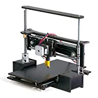 "TwoUp 3D Printer Kit with Heated Bed 7"" x 7"" x 5"" Build Dimensions 50 Micron 1.75mm PLA ABS Nylon Filament by Q3D"