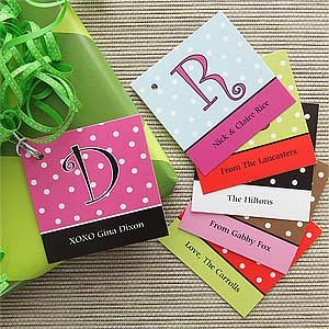 Personalized Gifts Tags - Polka Dots front-1016283